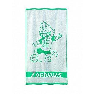 """Полотенце махровое """"FIFA Забивака"""", зеленый"""