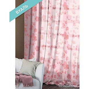 Комплект штор Этно Вуаль Сherry Blossoms, розовый