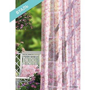 Комплект штор Прованс Вуаль Clair, розовый