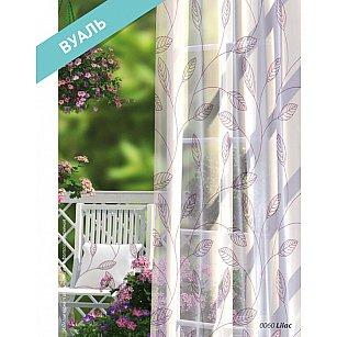 Комплект штор Прованс Вуаль Lilac, белый, розовый