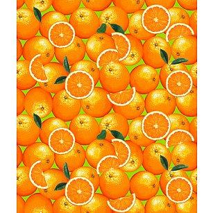 """Полотенце вафельное """"Апельсины"""", 40*70 см"""