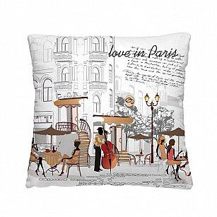 Декоративная подушка С ЛЮБОВЬЮ ИЗ ПАРИЖА