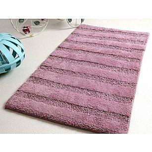 Коврик для ванной NOVA Mudrum, фиолетовый, 60х100 см