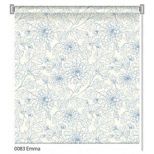 """Рулонная штора ролло """"Emma"""", дизайн 0083"""