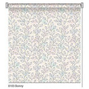 """Рулонная штора ролло """"Bonny"""", дизайн 0103"""