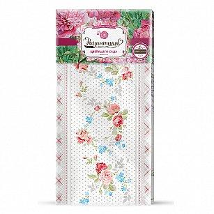 Полотенце вафельное 'Романтика' Розовый ноктюрн