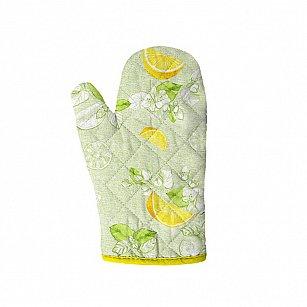 Прихватка-Рукавица 18*28 'Романтика' Лимонный сад