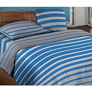 КПБ БИО Комфорт 'WENGE Motion' Stripe Blue 15184-5