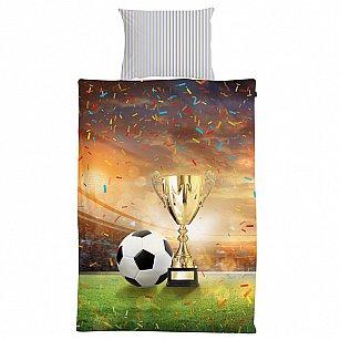 КПБ 2.0 перкаль '4YOU' Football (70х70) рис. 16019-1 Champions cup (2 нав.)