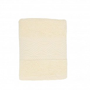 Полотенце махровое 'Унисон', Анкона, молочный