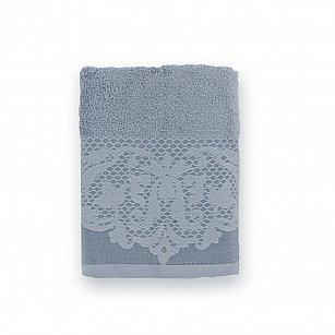 Полотенце махровое 'Романтика', Габриэль, холодный серый