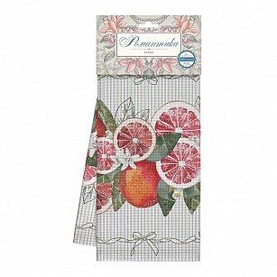 Комплект полотенец вафельных 50*70 (2шт) 'Романтика' Грейпфрут