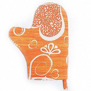 "Прихватка-рукавица ""Амур-6"", темно-оранжевый"