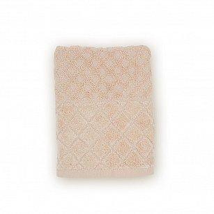 Полотенце махровое 'Романтика', Рахат-лукум, бежевый