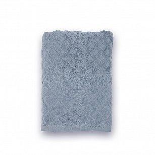 Полотенце махровое 'Романтика', Рахат-лукум, серый