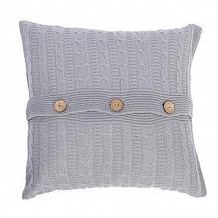 Подушка декоративная Sherlock (45х45), серый