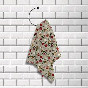 Комплект вафельных полотенец (3 шт) 50х70 'Шарлиз' Королевский тюльпан
