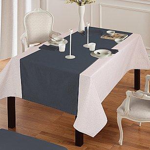 """Дорожка на стол """"Анита""""-8, серый"""