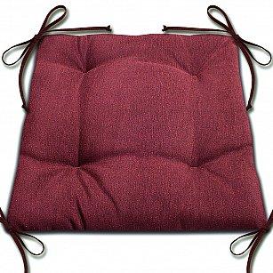 """Подушка для сидения """"Анита""""-5, бордовый"""