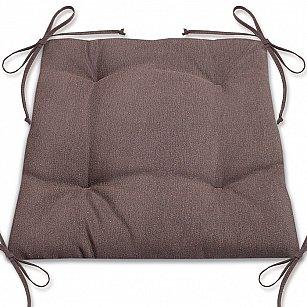 """Подушка для сидения """"Анита""""-4, темно-коричневый"""