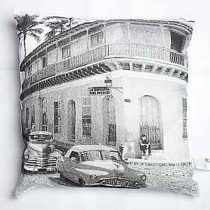 "Подушка декоративная ""Вояж"", Куба"