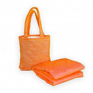 """Покрывало в чехле """"Пляжный комплект Симба"""" -14, оранжевый"""