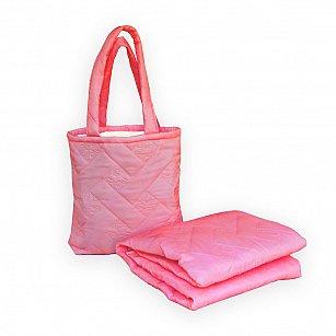 """Покрывало в чехле """"Пляжный комплект Симба"""" -2, розовый"""