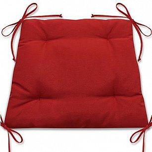 """Подушка для сидения """"Анита""""-10, красный"""
