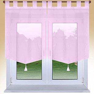 """Шторы """"Поло"""", розовый, 60*90 см"""