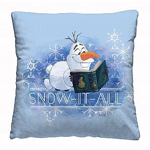 """Подушка декоративная """"Disney"""" Olaf snow"""
