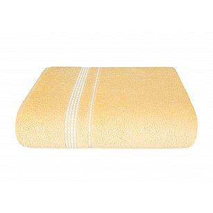 Полотенце махровое Aquarelle Лето, светло-желтый, 70*130 см