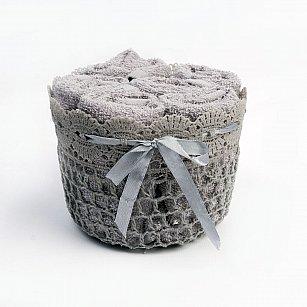 Комплект из 6-ти полотенец Arya Lola (30*30 см), серый