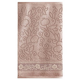 Полотенце махровое Sole Mio Гранаты, мокко, 35*55 см