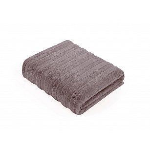 Полотенце махровое Verossa Palermo, лилово-коричневый