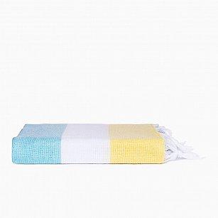 Полотенце для сауны Arya Goya, желтый, 90*160 см