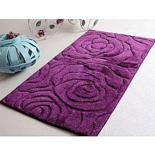 Коврик для ванной PRETTY Mor, фиолетовый, 60х100 см