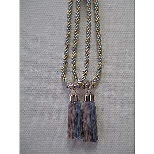 Кисти двойные С-2, серебро, золото, золотой, серебряный, 14 см