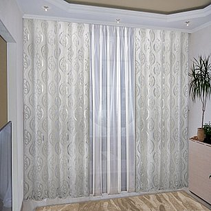 Комплект штор №036 Белый