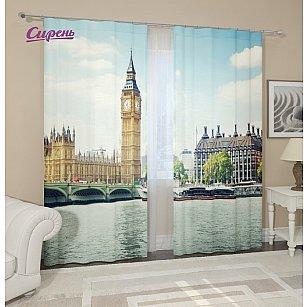 """Фотошторы """"Величие Лондона""""-A"""