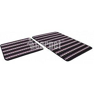 Набор ковриков PP LOOP LOOP icarpet (50*80+50*40), фиолетовый 61