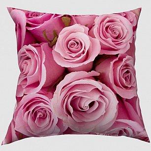 """Декоративная подушка блэкаут """"Розовые розы"""""""