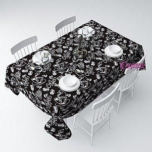 """Скатерть """"Черный кофе"""", 120*145 см-A"""