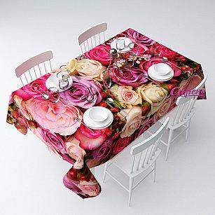 """Скатерть """"Восхитительный букет роз"""""""