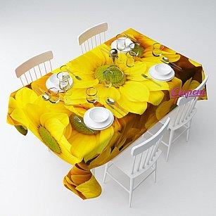 """Скатерть """"Желтые хризантемы"""""""