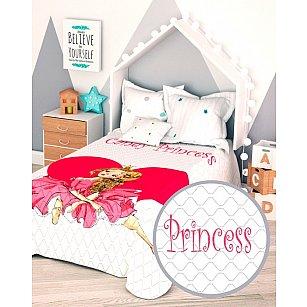 """Стеганое фотопокрывало """"Розовая принцесса"""", 145*210 см"""