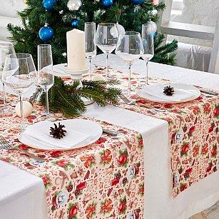 """Дорожка на стол """"Новогодние пряности"""", 40*140 см"""