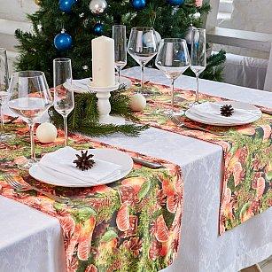"""Дорожка на стол """"Аромат Нового года"""", 40*140 см"""