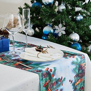 "Дорожка на стол ""Новогодняя фантазия"", 40*140 см"