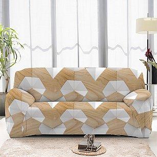 Чехол на диван трехместный ЧХТР071-13324, 195-230 см