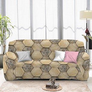 Чехол на диван трехместный ЧХТР071-13327, 195-230 см